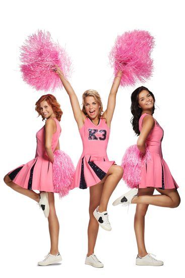 k3 jbc cheerleader jurk play-o