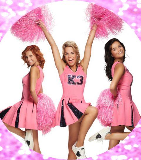 K3's populaire Play-O jurk nu ook in volwassen maten beschikbaar