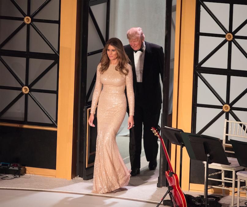 Melania Trump Michelle Obama stijl inhuldiging reem acra Norisol Ferrari analyse 2