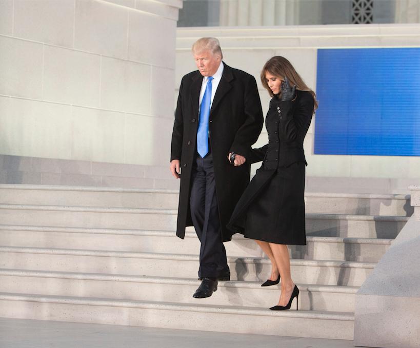 Melania Trump Michelle Obama stijl inhuldiging reem acra Norisol Ferrari analyse 3