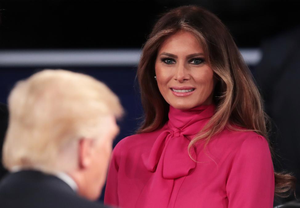 Melania Trump Michelle Obama stijl inhuldiging reem acra Norisol Ferrari analyse 4
