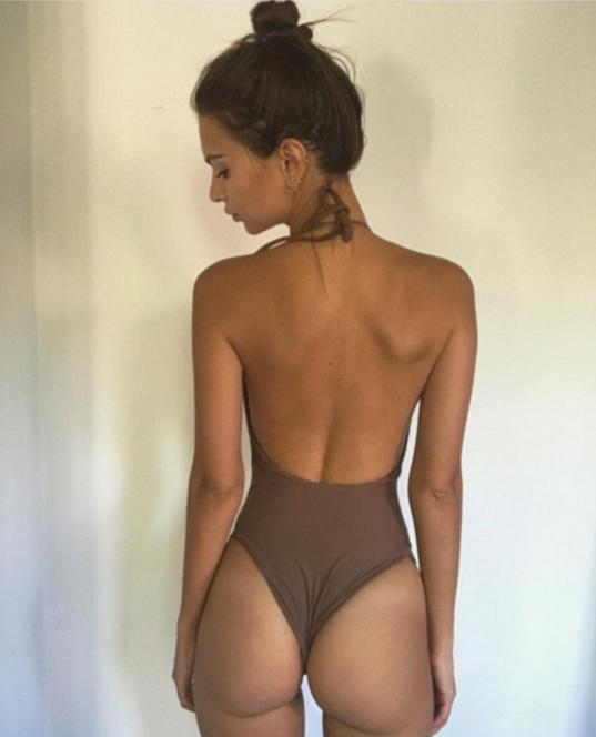 Nude swimwear bikini huidskleurig topje huidskleurig legging Kylie Jenner Yeezy Kim Kardashian 7