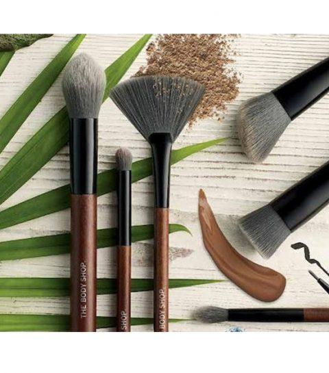 The Body Shop lanceert veganistische make-upborstels