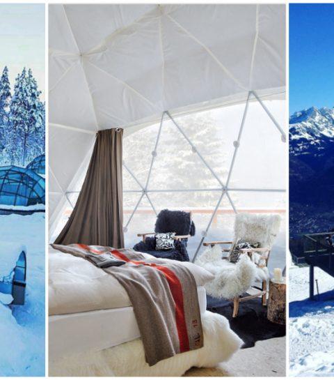 5 bijzondere bubbel hotels waarin je meteen wil overnachten