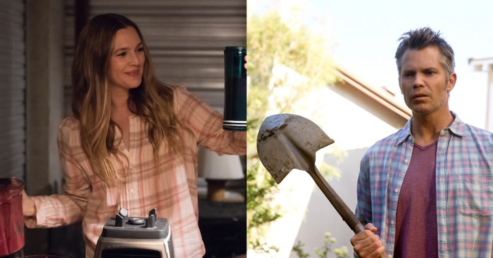 Drew Barrymore speelt in de meest bizarre serie ooit en daarom moet je hem zien