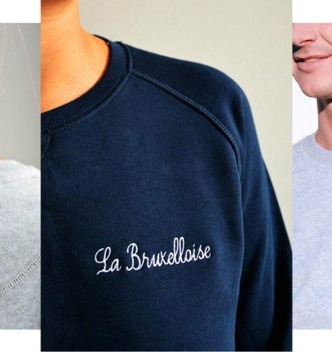 De hartjes sweater: La Bruxelloise