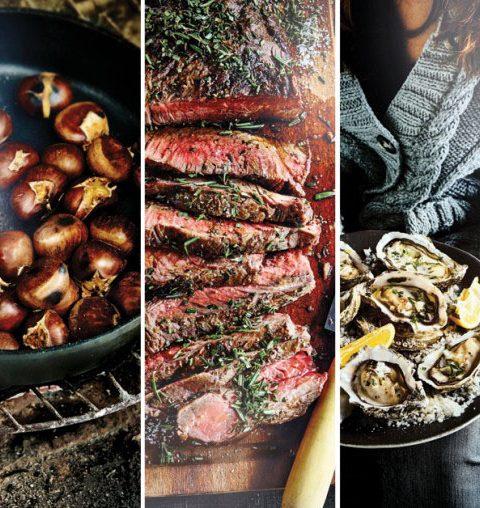 Nieuwe foodtrend: koken in de open haard