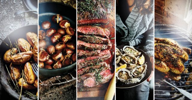Nieuwe foodtrend: koken in de open haard elle.be