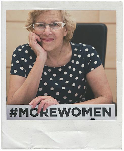 Manuela Carmena burgemeester van Madrid