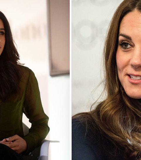 Zo verliep de eerste ontmoeting tussen Meghan Markle en Kate Middleton
