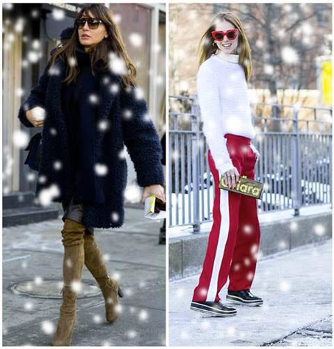 10 stijlvolle outfits voor wanneer het sneeuwt