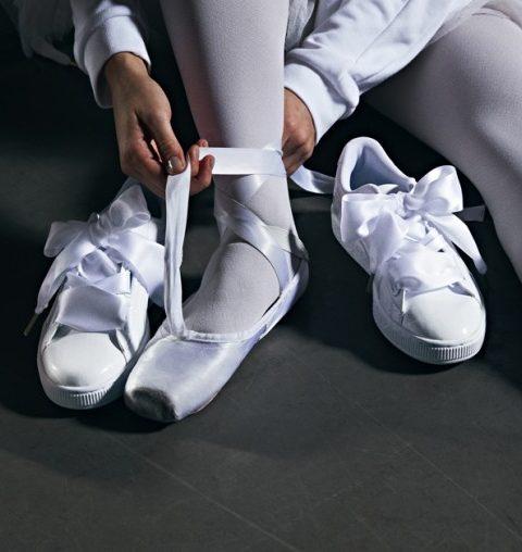 Puma heeft ballet sneakers uitgevonden en ze zijn geniaal