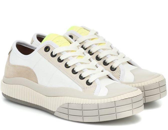 chloe schoenen witte sneakers