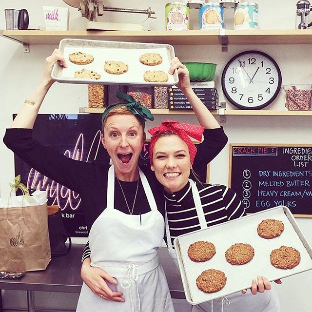 Karlie Kloss, Klossies, koekjes, Milk Bar, New York, topmodel, Momofuku