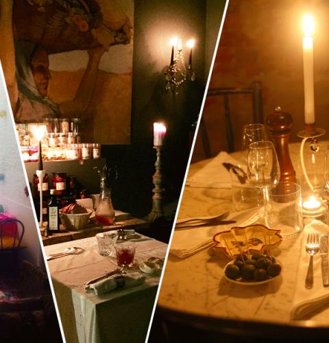 Dit zijn de 5 meest romantische mini restaurants in Brussel