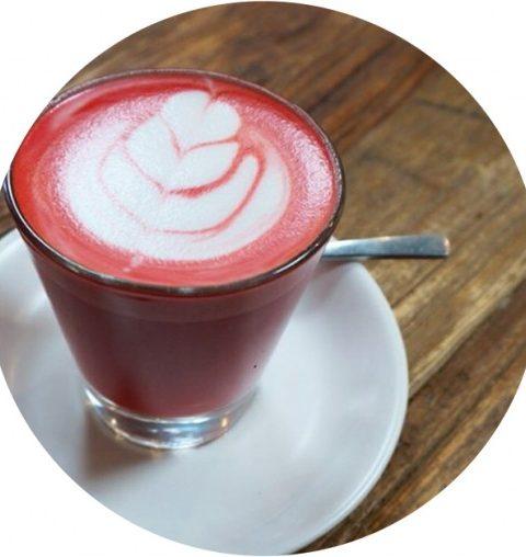Beetroot Latte: roze koffie om te vermageren