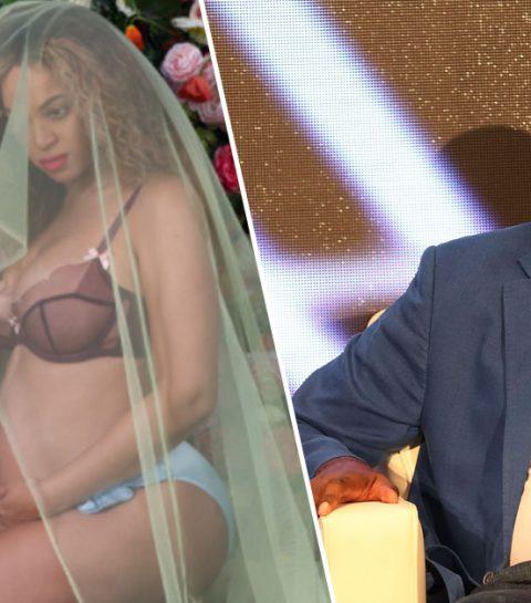 Schok: Beyoncé's vader was niet op de hoogte van haar zwangerschap