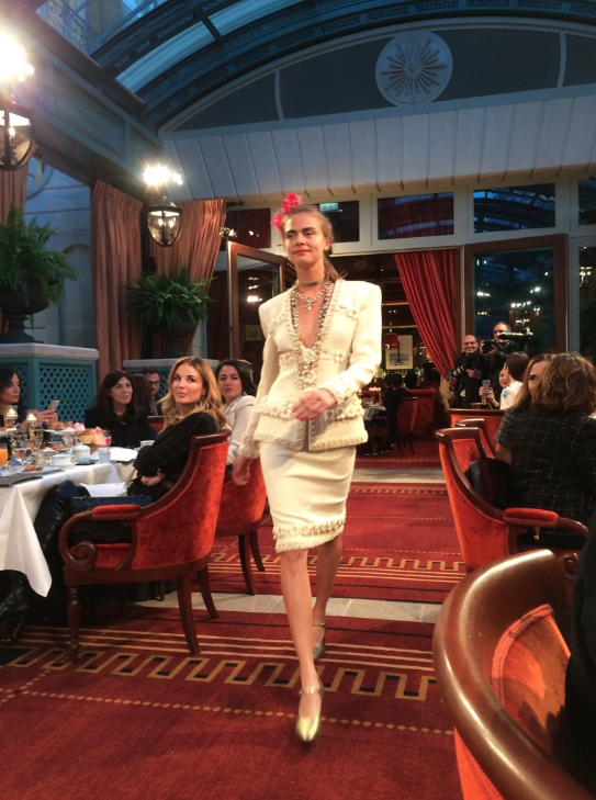 Chanel metiers d'art Paris Cosmopolite Ritz Willow Smith Pharrell Williams Lily-Rose Depp Cara Delevingne 11