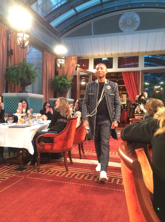 Chanel metiers d'art Paris Cosmopolite Ritz Willow Smith Pharrell Williams Lily-Rose Depp Cara Delevingne 12