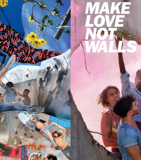 Geniaal: de Make Love Not Walls campagne van Diesel