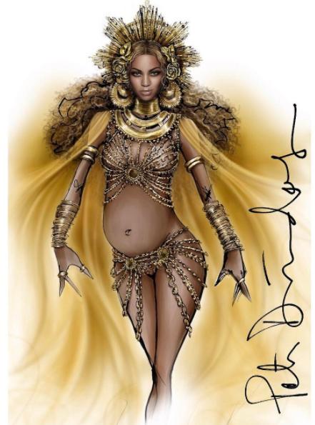 Grammy Awards 2017 Beyoncé Peter DUndas label 2