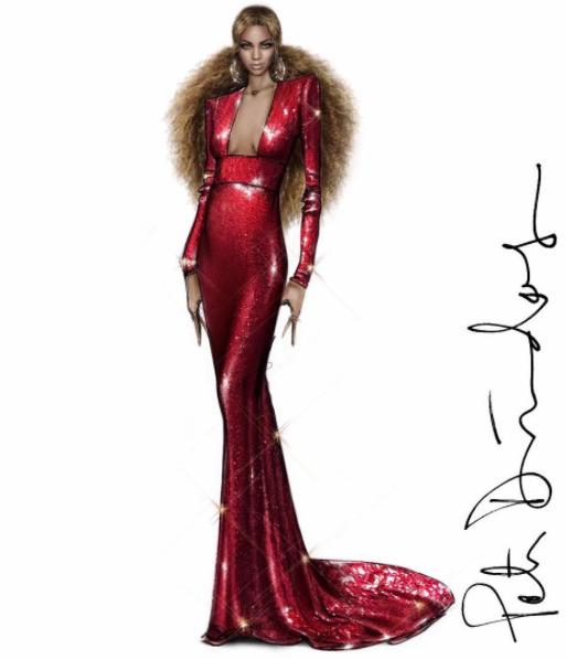 Grammy Awards 2017 Beyoncé Peter DUndas label 3