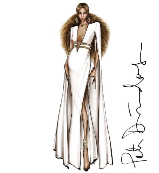 Grammy Awards 2017 Beyoncé Peter DUndas label 4