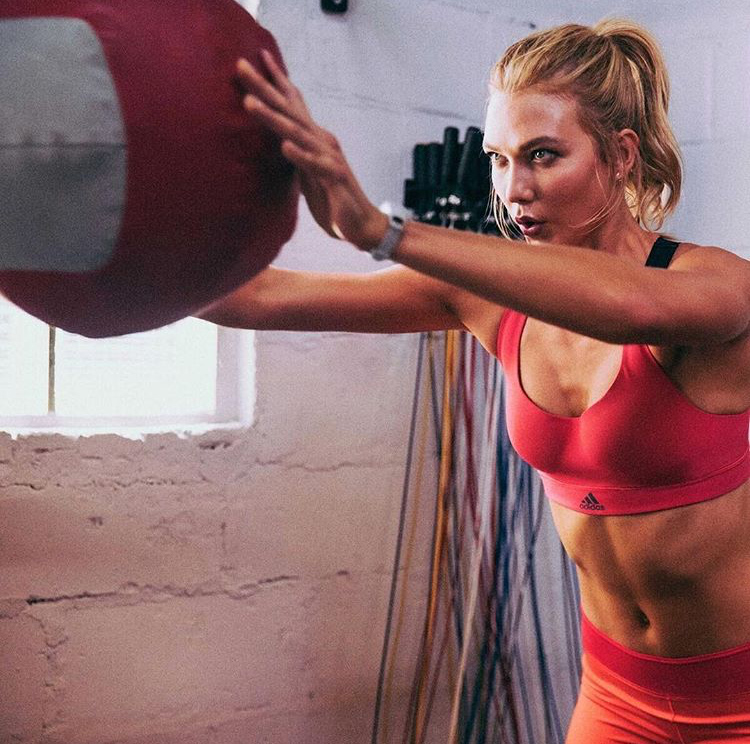 Karlie Kloss, Adidas, Stella Mccartney, topmodel, workout, fitness, fitnessfriday
