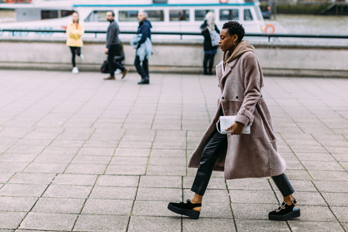 Londen streetstyle 2017 Fashion week