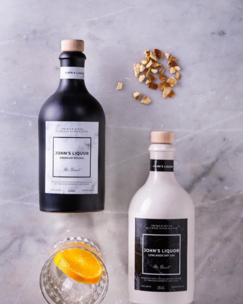 Make Your Own Spirit gepersonaliseerde fles ontwerpen MYOS 1