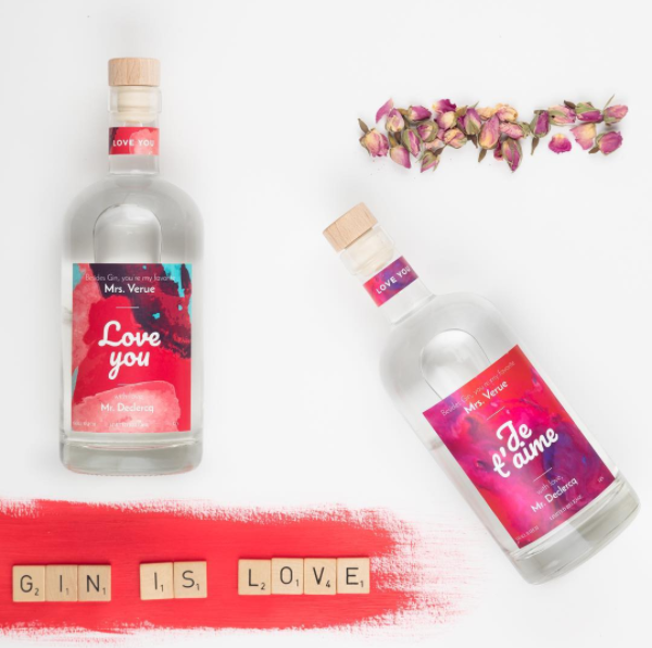 Make Your Own Spirit gepersonaliseerde fles ontwerpen MYOS 3
