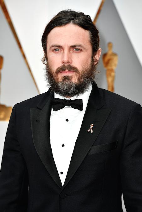 Oscars 2017 Casey Affleck Planned Parenthood red carpet