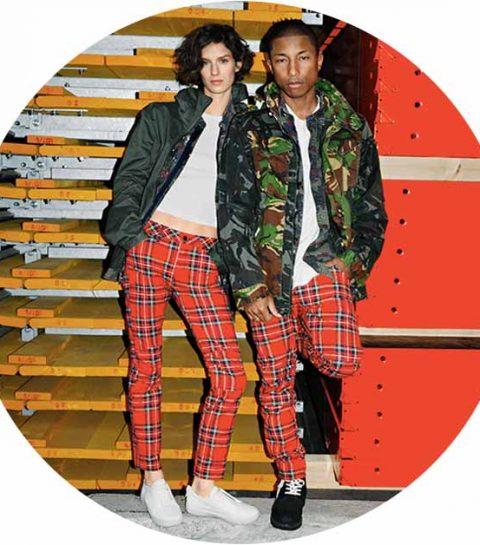 Pharrell Williams X G-Star RAW jeans in 25 verschillende prints