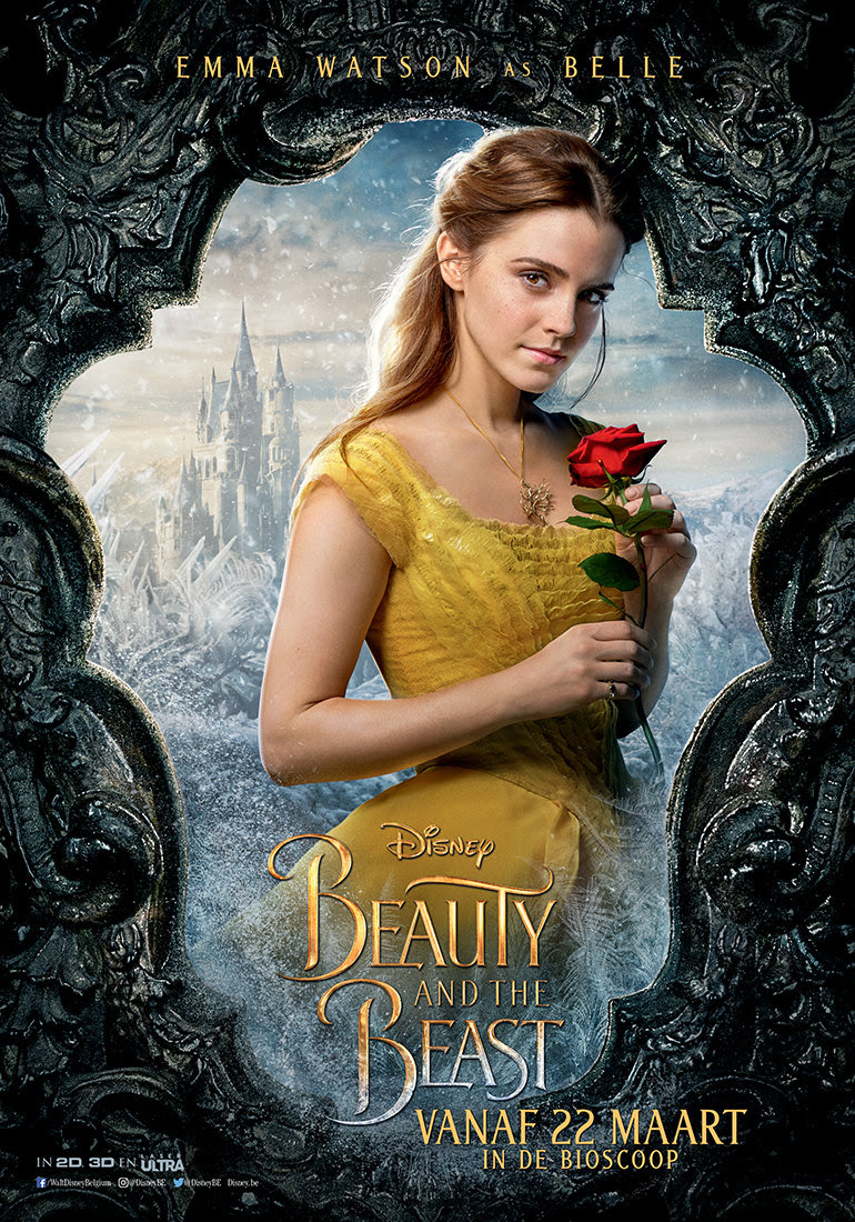 Beauty and the beast disney belle movie film emma watson dan stevens beest