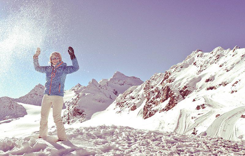 Hebben: een lichtgevend snowboard