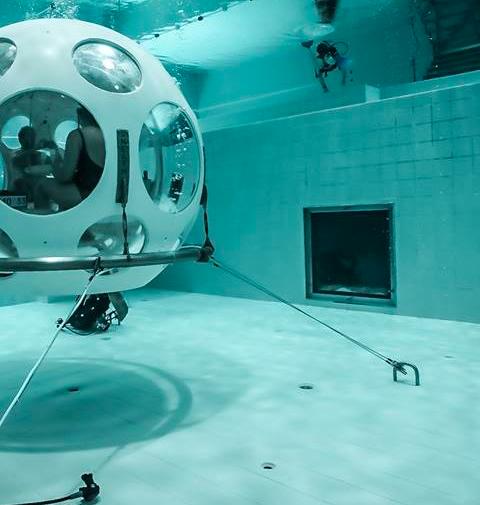 Bucket List: dineren in een luchtbel onder water