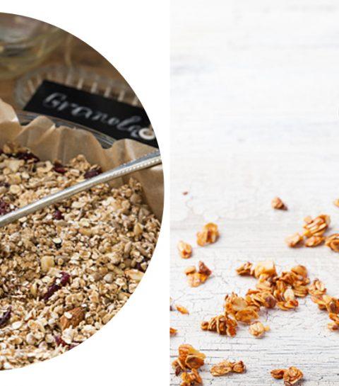 Dit is het eenvoudigste recept om zelf granola te maken