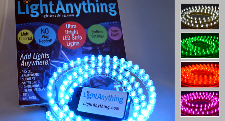 lightanything verlicht snowboard