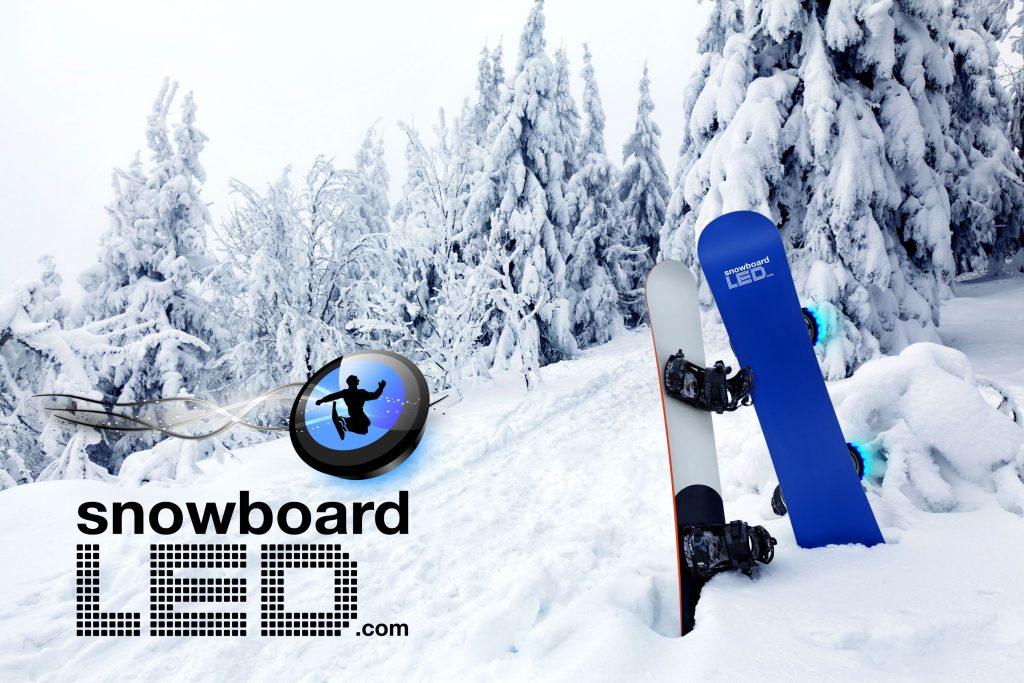 Snowboard led elle