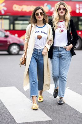 streetsyle BYY fashion week jeans casual