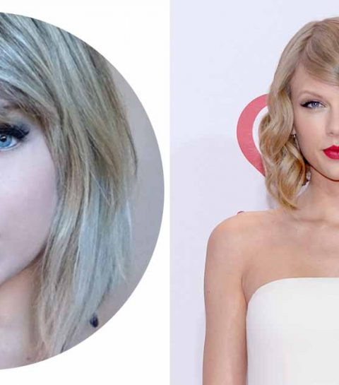 Schok: dit is de dubbelganger van Taylor Swift
