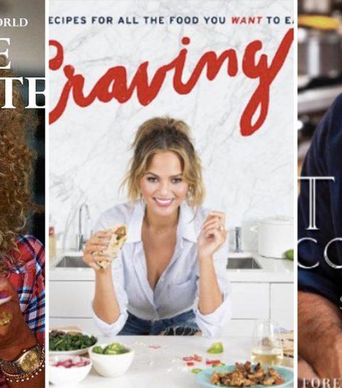 10 inspirerende celebrity kookboeken die jij in huis moet halen