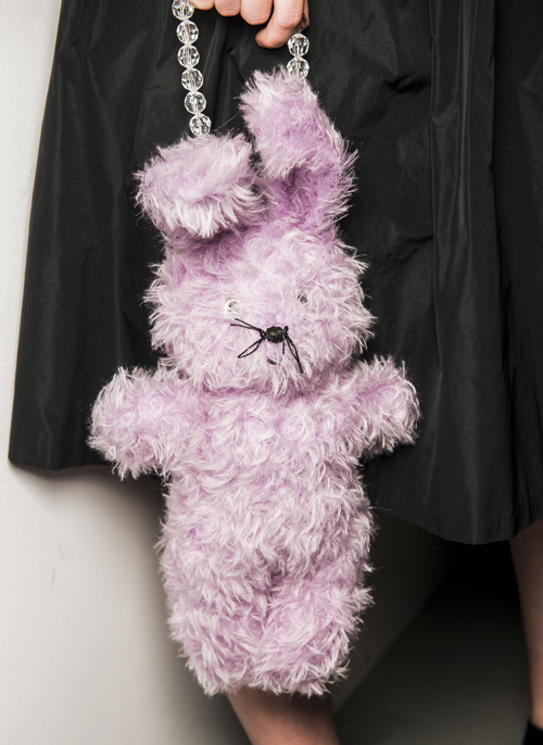 Ashley-Williams-SS17-fashion-week-bunny-bag-it-toy-story-backstage