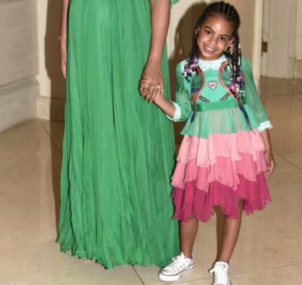 Beyoncé zwanger Blue Ivy Beauty and the beast premiere gucci belle 3