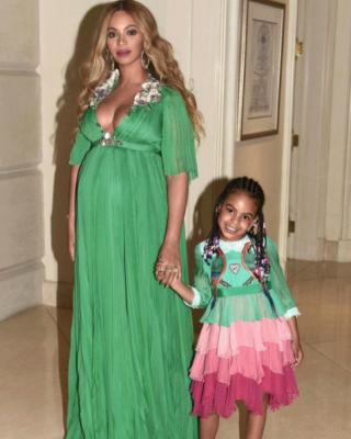 Beyoncé zwanger Blue Ivy Beauty and the beast premiere gucci belle 4