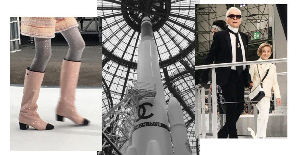 Schok: Karl Lagerfeld wenst ons allemaal naar de maan