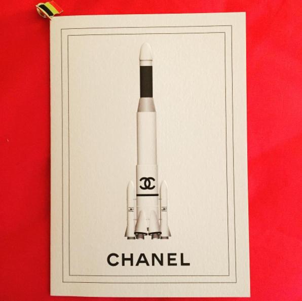 Chanel Ground Control AW17 rakket karl lagerfeld 1