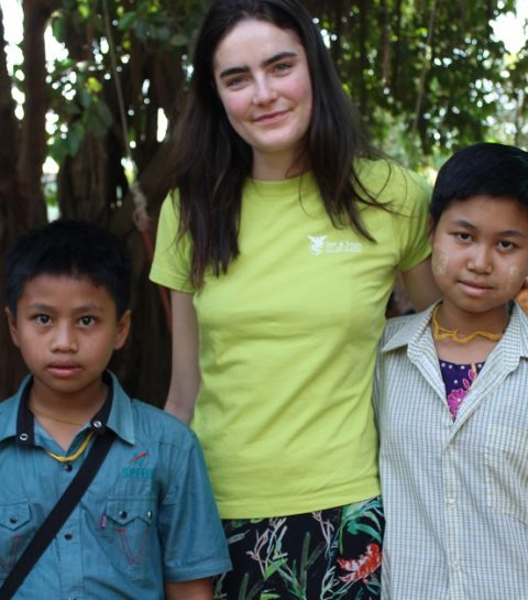 Daphne Velghe Goes Myanmar: here we are