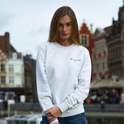 Flaneur witte trui