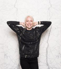 Sweater crush: de marmeren uniseks trui
